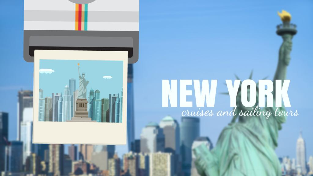 Tour Invitation with New York City | Full Hd Video Template — Maak een ontwerp