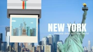 Tour Invitation with New York City | Full Hd Video Template