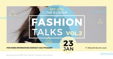 Fashion talks Annoucement with Stylish Girl
