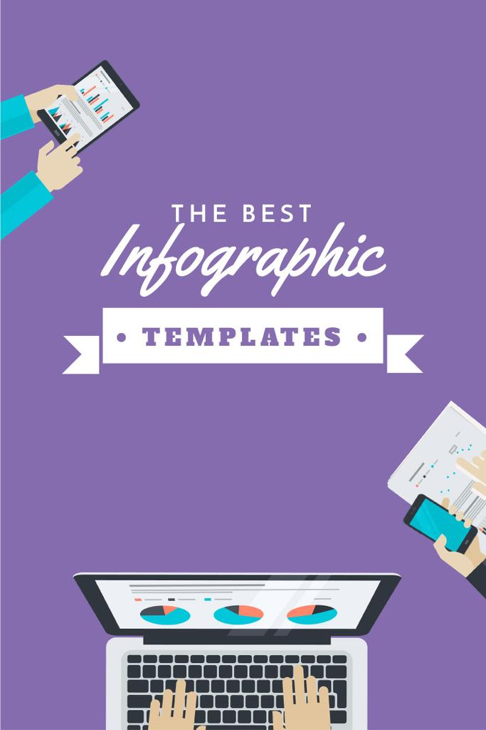 best infographic templates poster pinterest graphic 735x1102px template  u2014 design online  u2014 crello