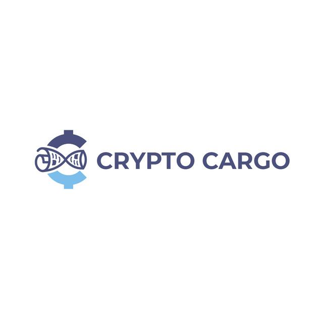 Modèle de visuel Crypto Currency Concept in Blue - Logo