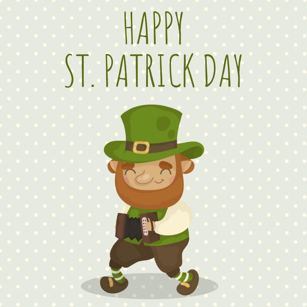 Saint Patrick's leprechaun – Stwórz projekt