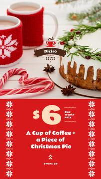 Christmas Festive Cake and Coffee Offer | Stories Template