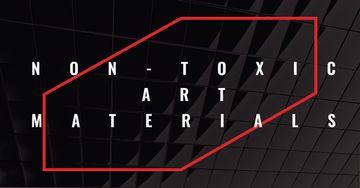 Art materials Offer on Dark glass Texture
