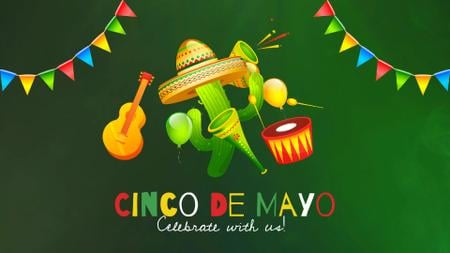 Cinco de Mayo Mexican holiday Full HD video Design Template
