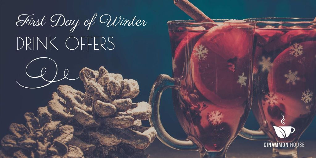 First day of winter offers — Crea un design