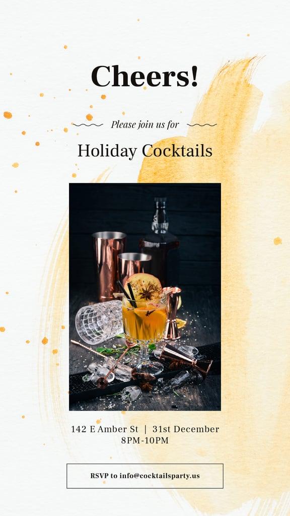 White mulled wine — Modelo de projeto