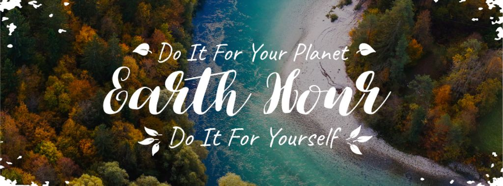 earth hour banner — Crea un design