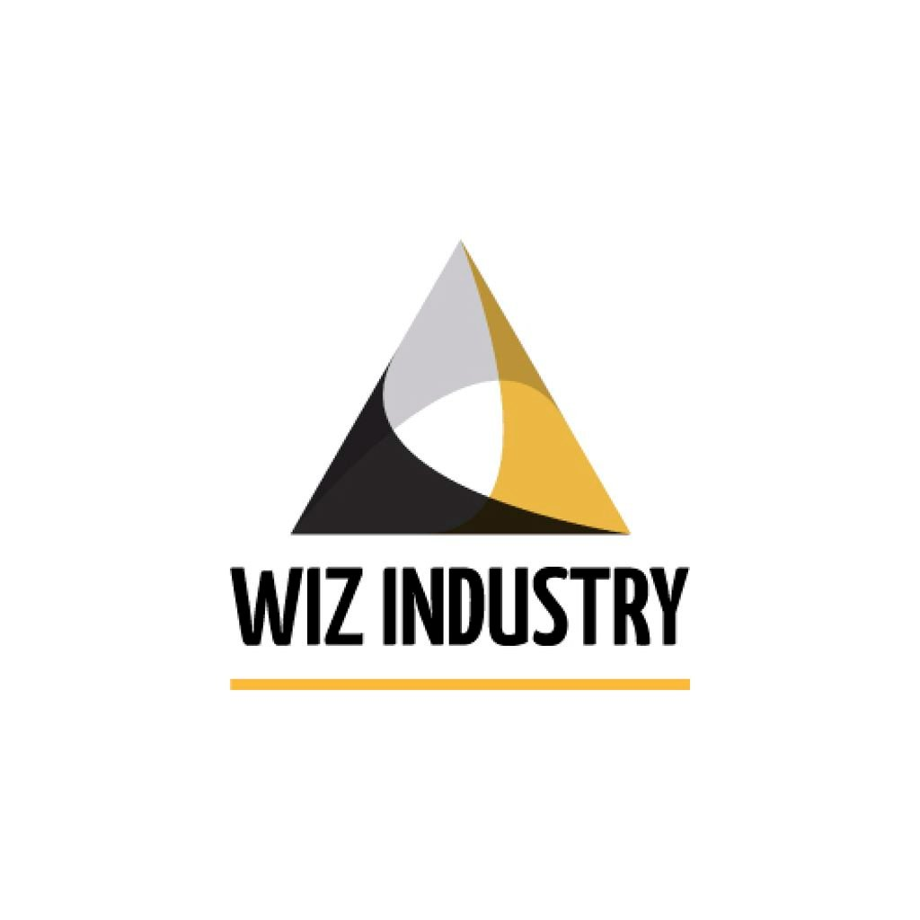 Industrial Company with Logo Triangle Icon — Create a Design