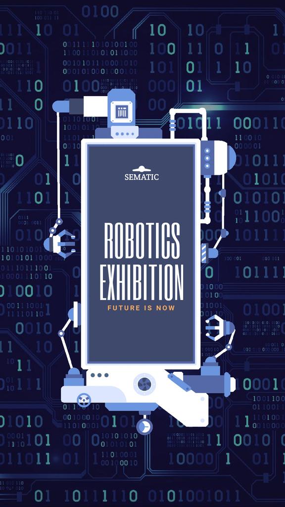 Robotics Production Line Frame — Maak een ontwerp