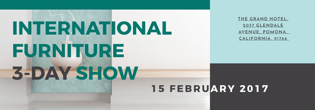 International furniture show — Modelo de projeto