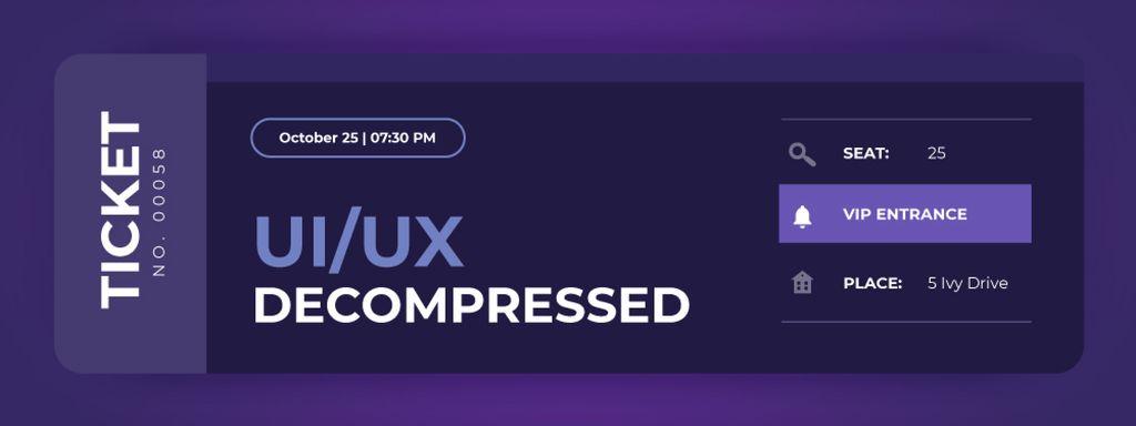 Interface Engineering Event on purple - Vytvořte návrh