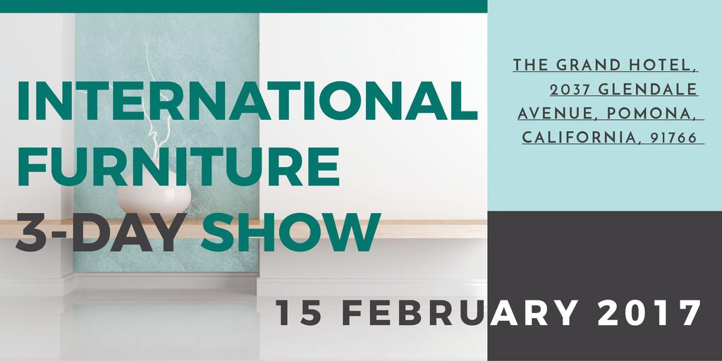 International furniture show —デザインを作成する