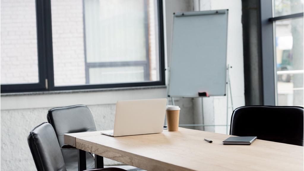 Modern Office white Interior — Создать дизайн