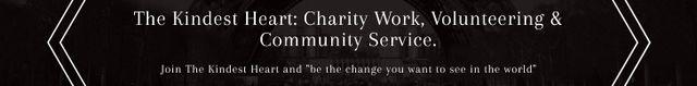 The Kindest Heart: Charity Work Leaderboard – шаблон для дизайна
