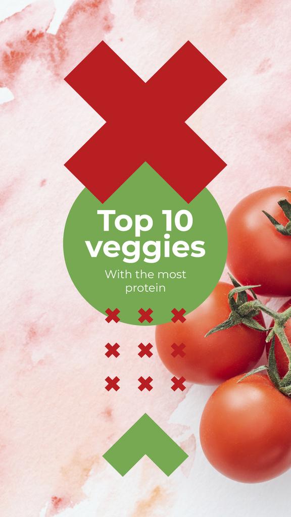 Ripe cherry tomatoes — Створити дизайн