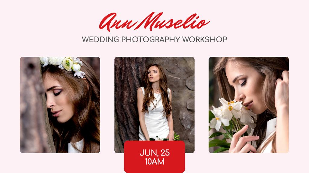 Wedding Photography offer Bride in White Dress — Створити дизайн