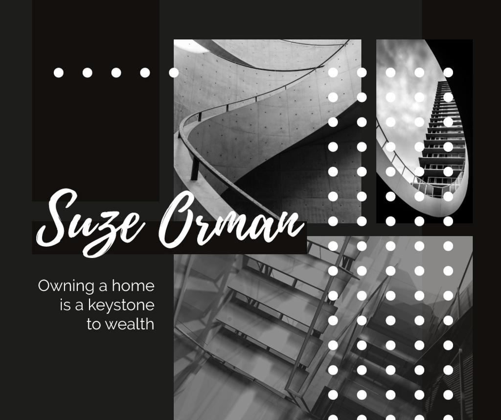 Stairs in modern building — Maak een ontwerp