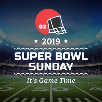 Super bowl Announcement