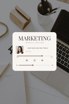 Podcast with Marketing weekly review