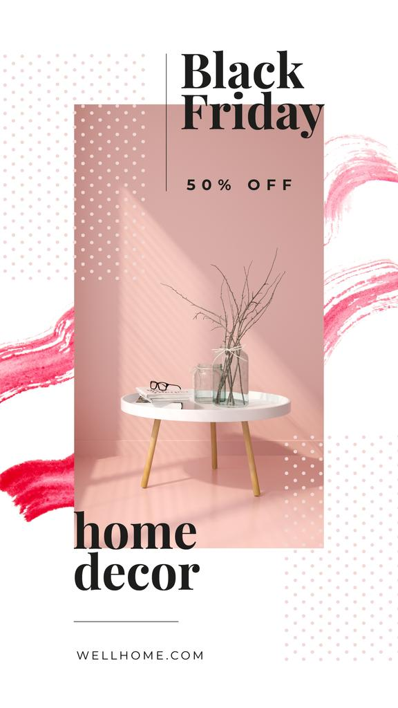 Black Friday Sale Vases for home decor — Crear un diseño