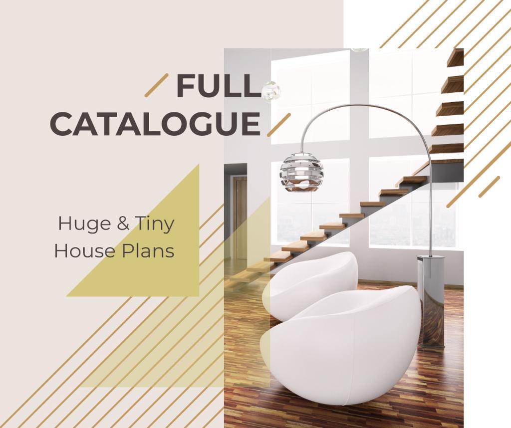 Stylish modern interior  — Crea un design