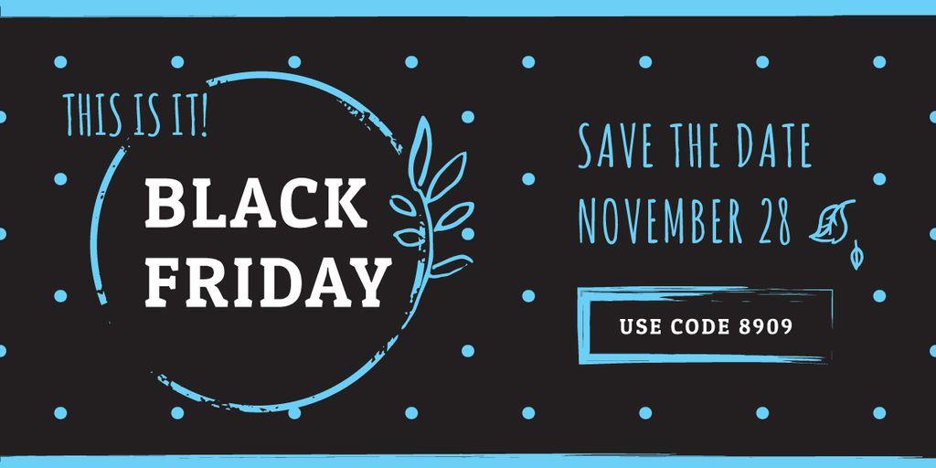 black Friday poster — Modelo de projeto
