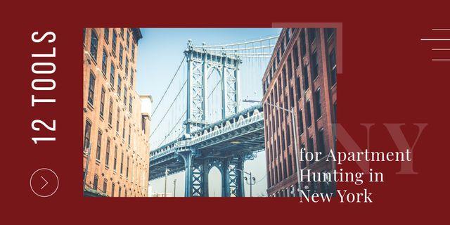 Plantilla de diseño de New York city Image
