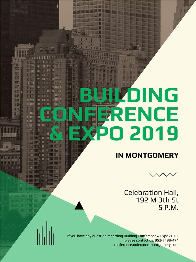Building conference banner — Create a Design
