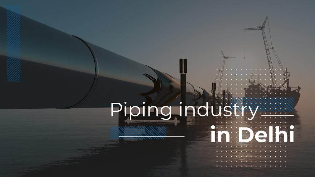Industrial Pipe in Sea | Youtube Thumbnail Template — Créer un visuel