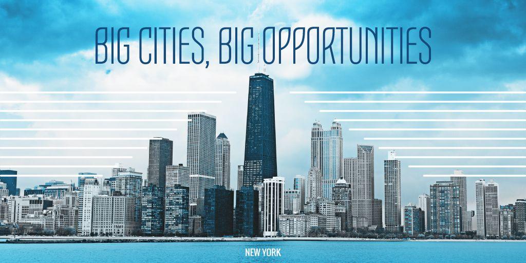 Big city opportunities poster — ein Design erstellen