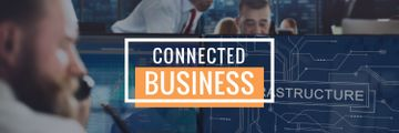 connected business poster