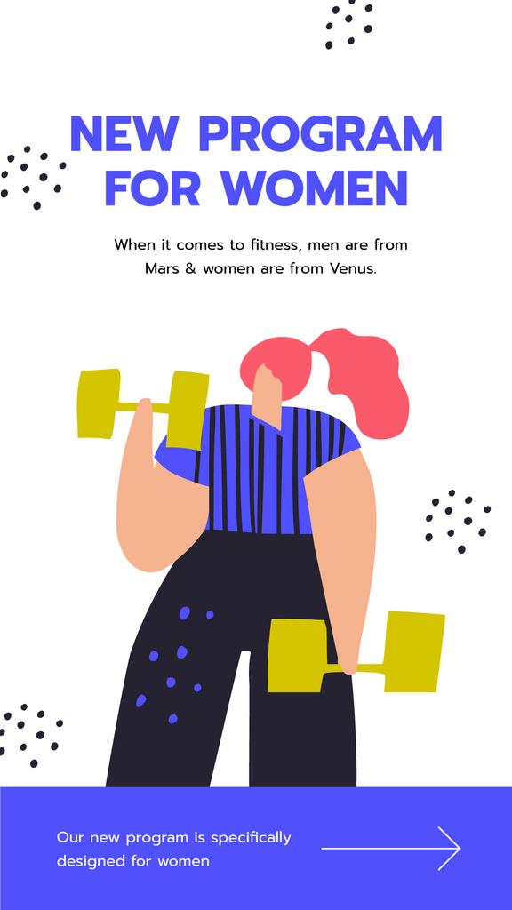 Fitness program for Women ad — ein Design erstellen