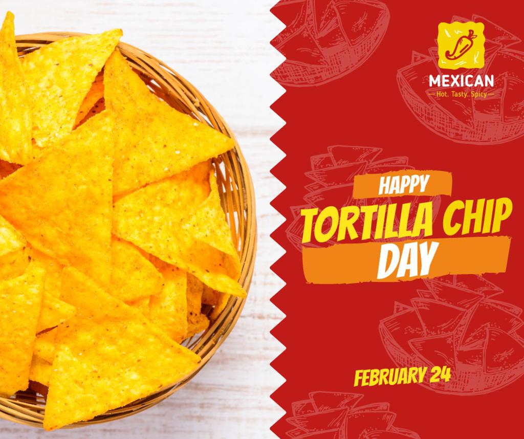 Tortilla chip day celebration — Создать дизайн
