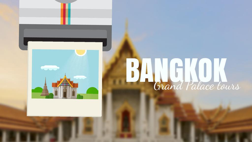 Bangkok Famous Travelling Spot   Full Hd Video Template — Crea un design