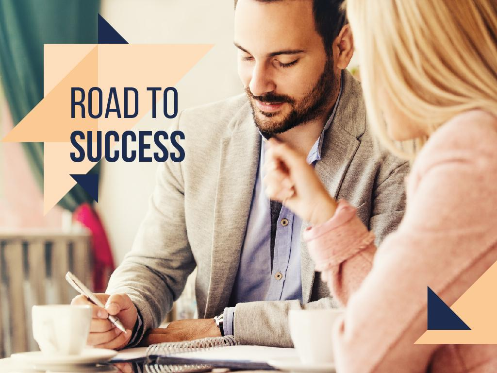 Road to business success — Crea un design