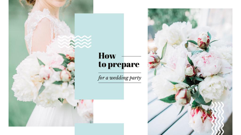 How to prepare for a wedding party — Créer un visuel