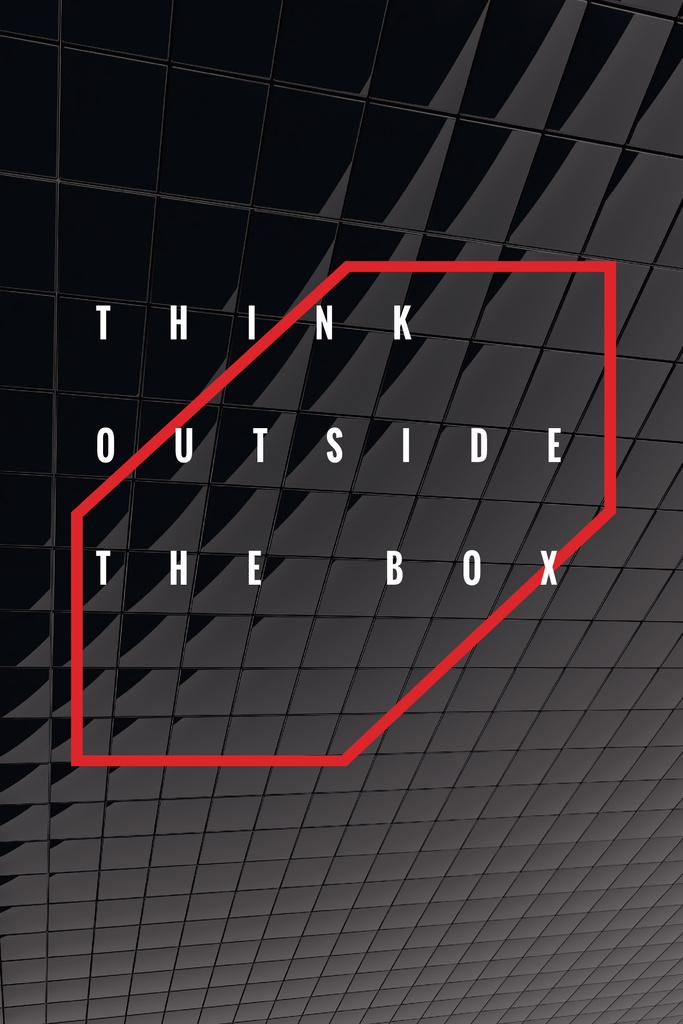 Think outside the box citation — Create a Design