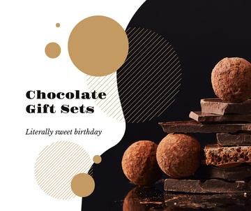 Dark sweet Chocolate pieces