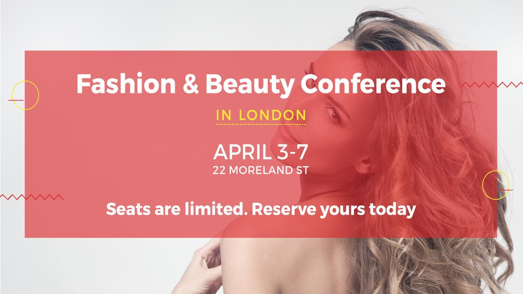 fashion beauty conference in london facebook event cover template