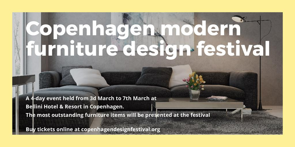 Copenhagen modern furniture design festival — Создать дизайн