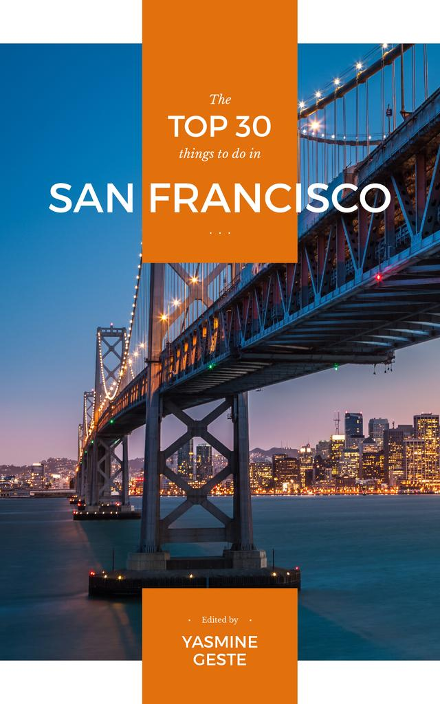Travelling to San Francisco city — ein Design erstellen