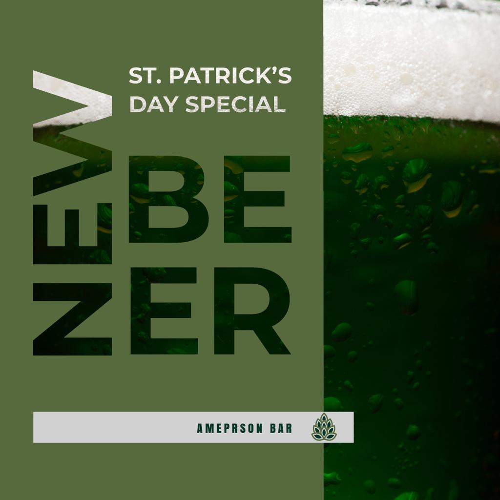 New Beer Saint Patrick's Day Special Ad — Maak een ontwerp