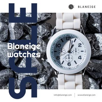Accessories Sale with White Watch