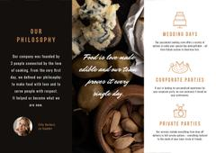 Catering Services Ad Brochure
