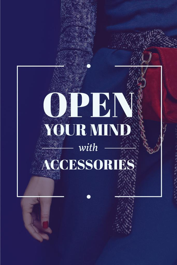 Young woman with accessories — Create a Design