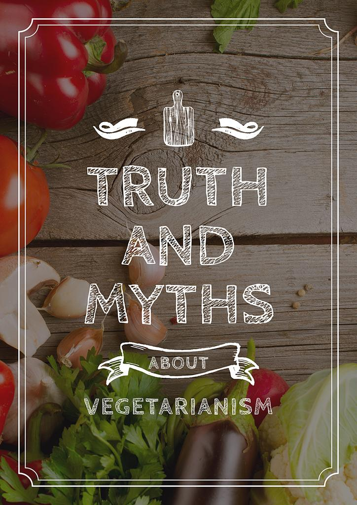 Truth and myths about Vegetarianism — Modelo de projeto