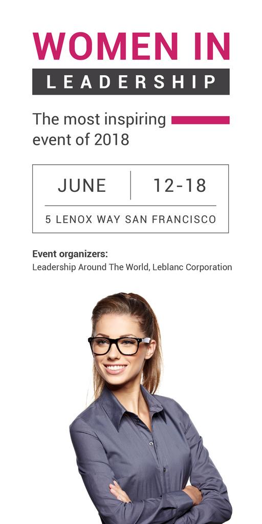 Women in Leadership event — Créer un visuel