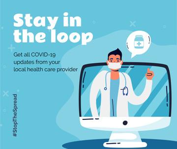 #StopTheSpread Coronavirus awareness with Doctor's advice