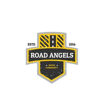 Bikers Community Road Symbol | Logo Template